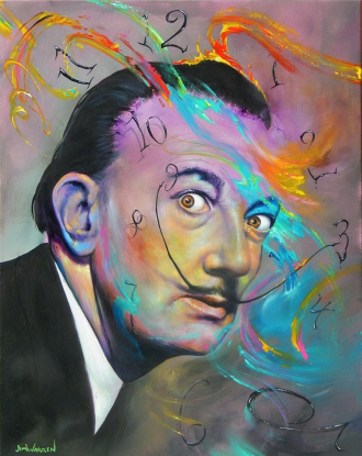 http://myartmagazine.com/image/salvador-dali-painting-by-jim-warren